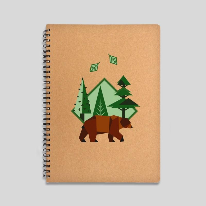 Mountain fox notebook